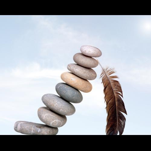 ausgeklügelte Balance